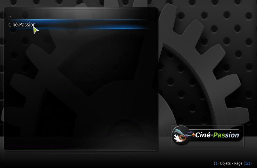 Installer Scraper Cine Passion Xbmc
